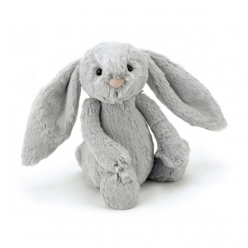 Jellycat small bashful silver bunny