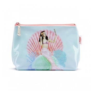 Catseye mermaid make up bag