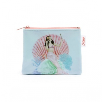 Catseye mermaid coin purse
