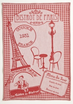 Coucke Bistrot de Paris  PJ Tea Towel