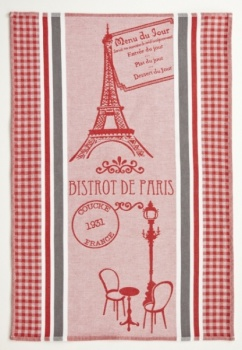 Coucke Bistrot de Paris Tea Towel