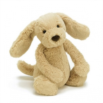 Jellycat Medium Bashful Toffee Puppy