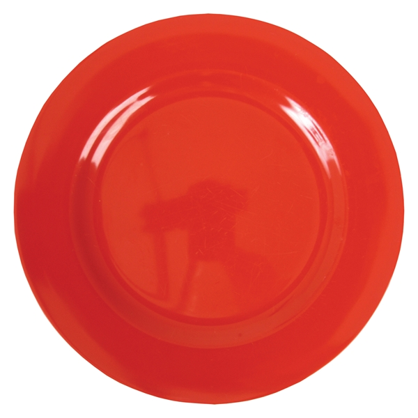 melamine dinner plate in red - Melamine Dinner Plates