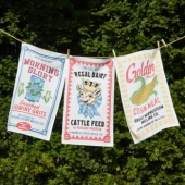 Twos company set of 3 farmstead tea towels