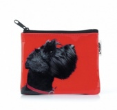 Catseye Terrier Purse