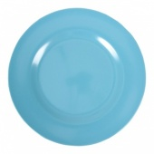 Melamine Side Plate in Turquoise