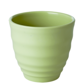 Rice Melamine Japanese Style Cup Pastel Green