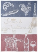 Coucke tea towel-france et traditions