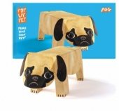 Rosie flo pop up pet pug