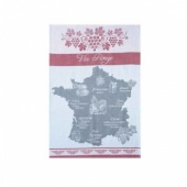Coucke tea towel-vin rouge