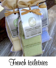 Durance French toiletries