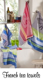 French tea towels