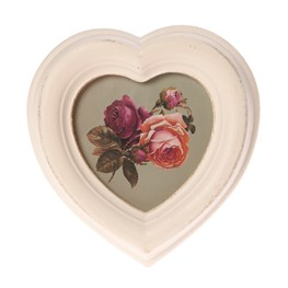 Antique heart frame