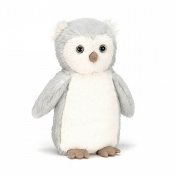 Jellycat small bashful owl chick