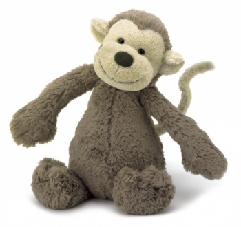 Jellycat Small Bashful Monkey
