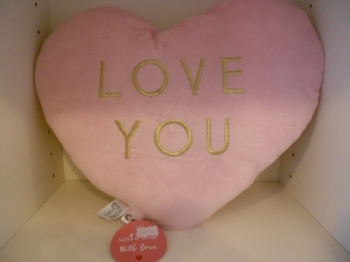 Sass and Belle Heart shaped cushion
