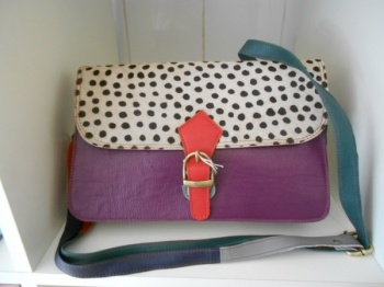 Cloche-style Hand knitted Hat