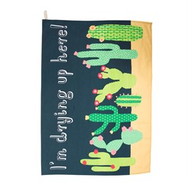 Colourful Cactus Tea Towel.