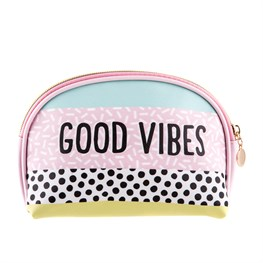 Good Vibes Cosmetics Bag.