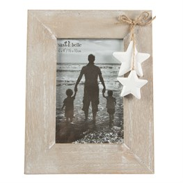 Sass and Belle farmhouse stars photo frame