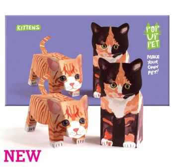 Rosie flo pop up pet kittens