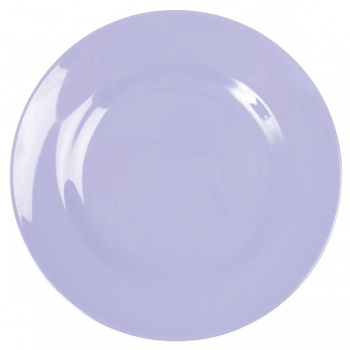 Melamine Side Plate in Lavender