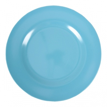 Melamine Dinner Plate in Turquoise