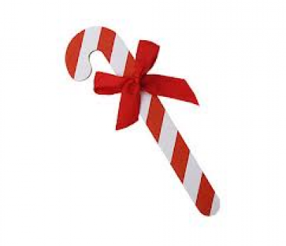 Candy Cane Nail File