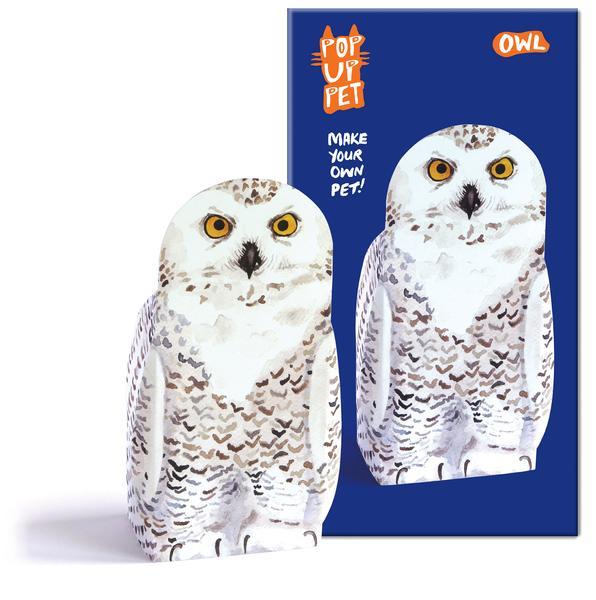 rosie flo pop up pet owl pardon my french. Black Bedroom Furniture Sets. Home Design Ideas