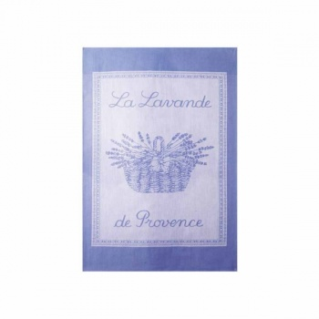 Coucke tea towel-lavande lavande