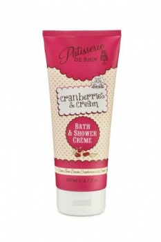 Patisserie de bain cranberries and cream bath and shower creme