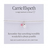 Carrie Elspeth Sentiment Bracelet