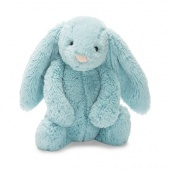 Jellycat small bashful aqua bunny