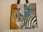 Zebra Re-usable shopping Bag