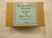 Be Natural  Sage and Sea Salt soap