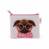 Catseye glasses pooch coin purse