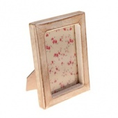 White Wood Photo Frame.