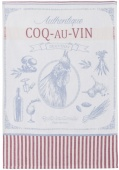 Coucke coq au vin tea towel