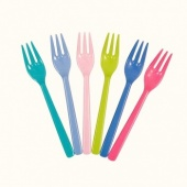 Melamine Cake Forks Set of 6
