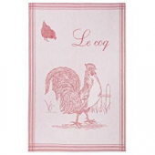 Coucke tea towel Le coq